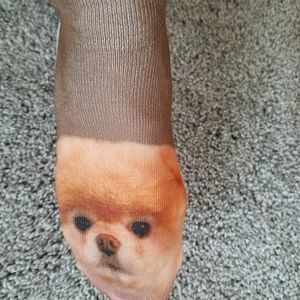 Accessories - NWOT Pomeranian Socks